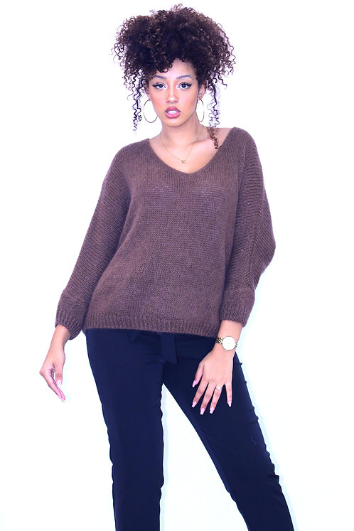 PULL MAILLE CHOCO