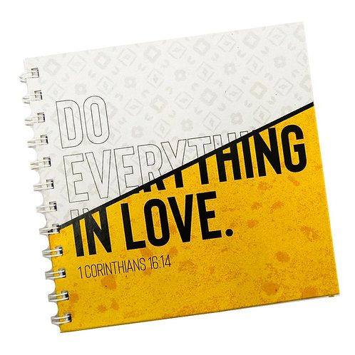 Do Everything In Love Doodle Book