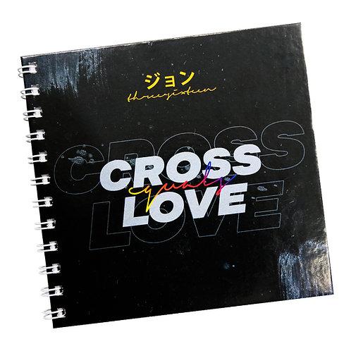 Cross Equals Love V2 Doodle Notebook