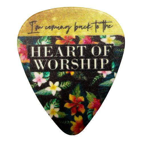 Heart Of Worship Guitar Pick