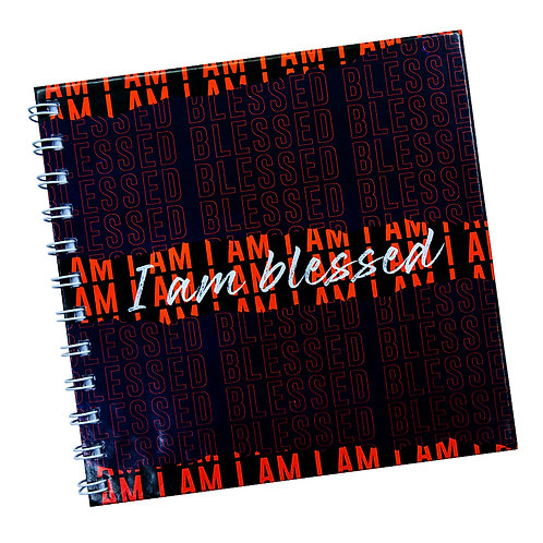 I Am Blessed Doodle Notebook