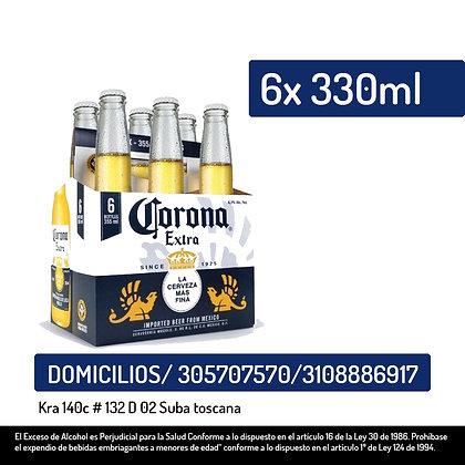 Cerveza Corona 6Und x355 Ml