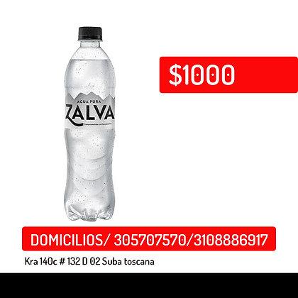Agua Zalva pet x600ml
