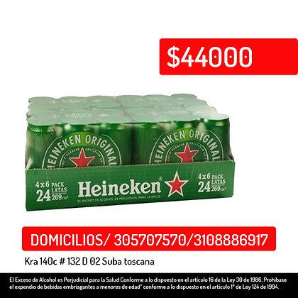 Heineken4x6 24 269ml