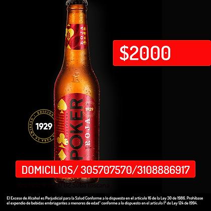 Cerveza Poker Roja *330ml
