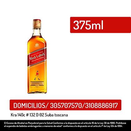 Whisky Johnnie Walker red x 375 ml
