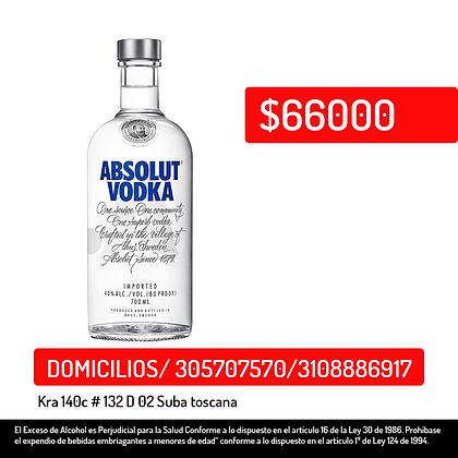 Vodka Absolut Blue 700ml