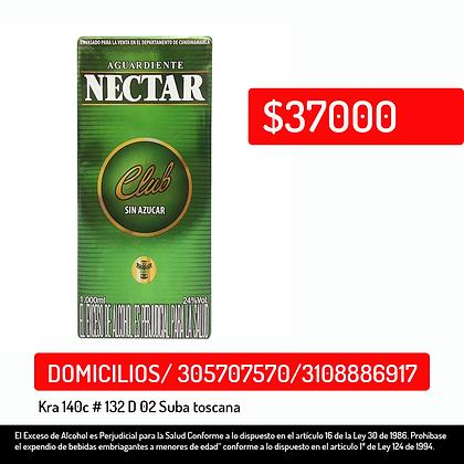 Aguardiente Nectar club 1000 ml