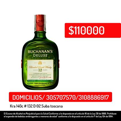 Whisky Buchanans Deluxe *750 ml