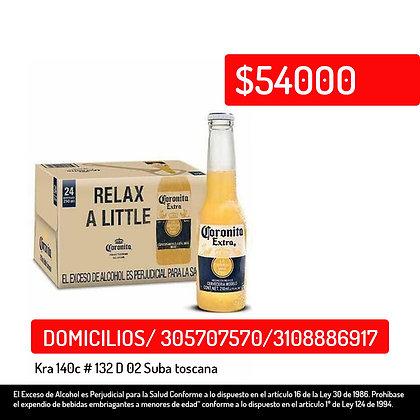 Coronita Extra Caja X 24 Botellas 210 M