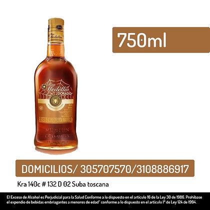 Ron Medellin dorado botella x 750 ml