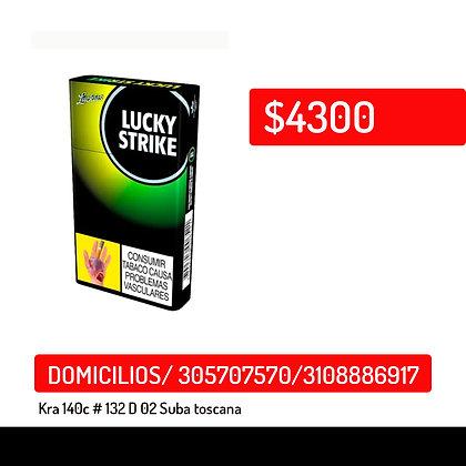 Cigarrillo Lucky Strike x10 verde