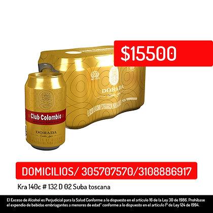 Club Colombia Dorada Lata  6x 330Ml
