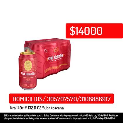 Cerveza Club Colombia Roja 6PACK *330ml