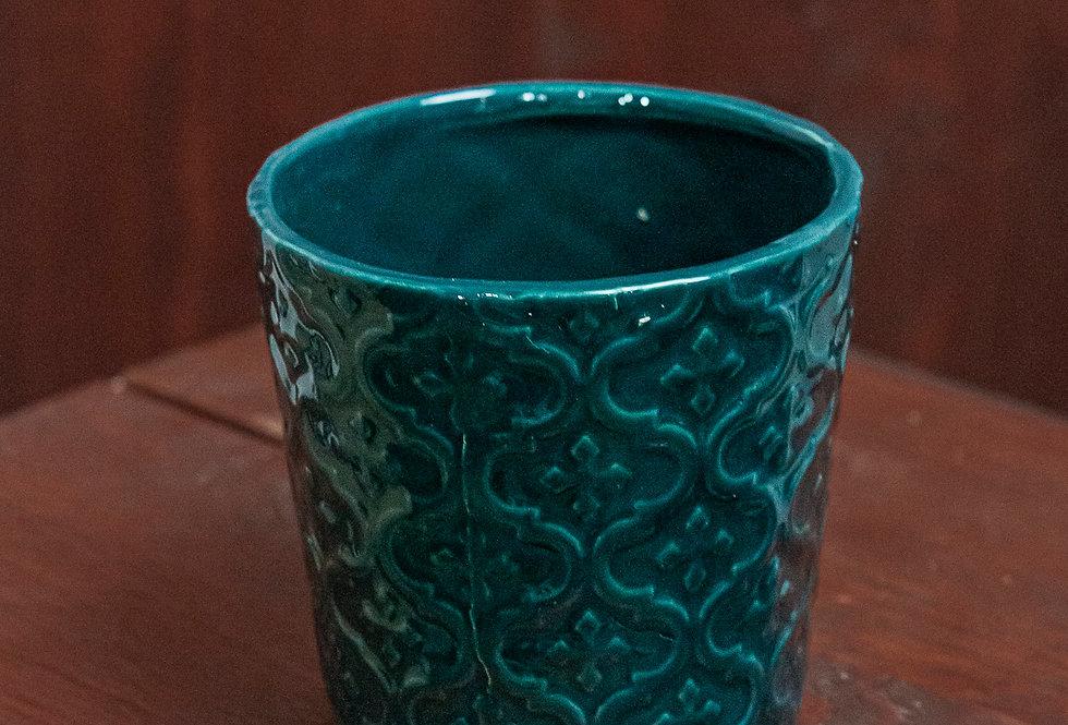 Ornamentikus cserép több színben