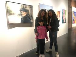 Con Azahara y Lucía