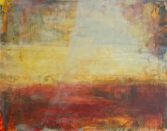 Sunseek,_mixed_media_on_canvas,_122_x_15