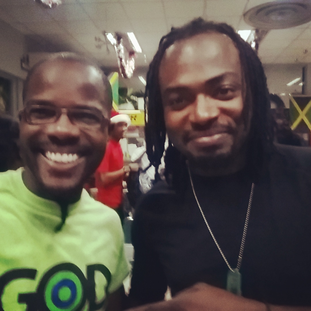 Selfie with Guitar guru Jovan Norman