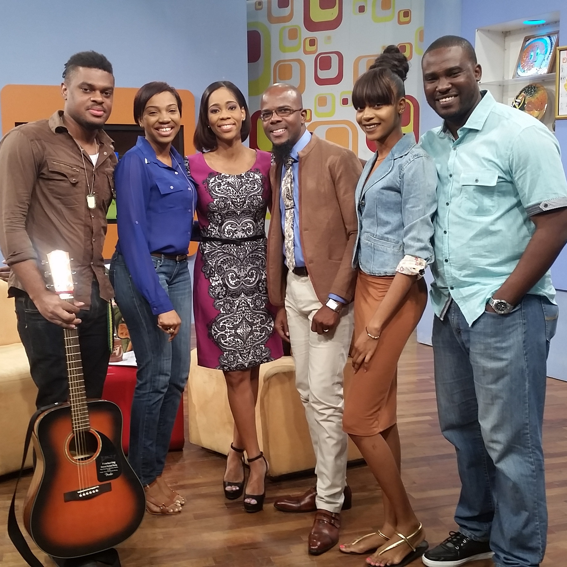 Performance on Smile Jamaica TVJ
