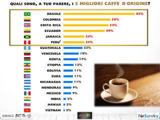 La percezione dell'origine del caffè: Italiani grandi esperti?