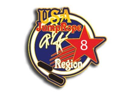 Region 8 Tack Pin