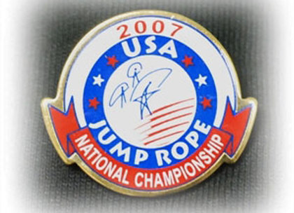 2007 Nationals Tack Pin