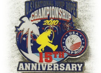 2010 Nationals Tack Pin