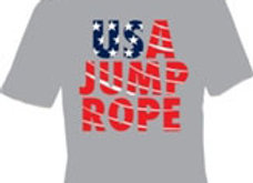 USA Jump Rope Flag Shirt