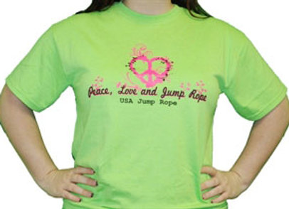 Peace, Love and Jump Rope Shirt