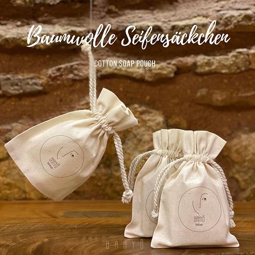 Baumwolle Seifensäckchen