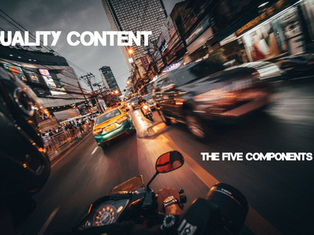 5 Components of Quality Content