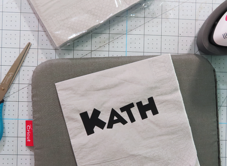 Aplicar Vinyl textil o Iron-on en materiales que no sean tela