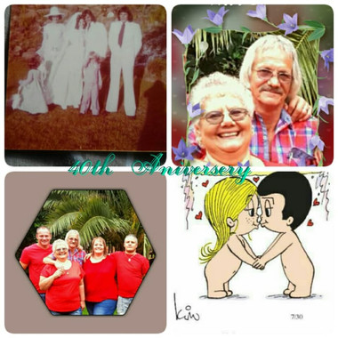 Married  to Ernest Phillip  Jacobs  Blignaut 5 /2/1977 with my lovely  children  💓 over and out love hope it help you in some whey 💞