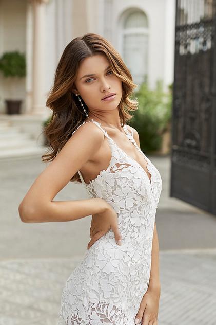 Pretty White Dress TEANNA Rosa Clara Fro