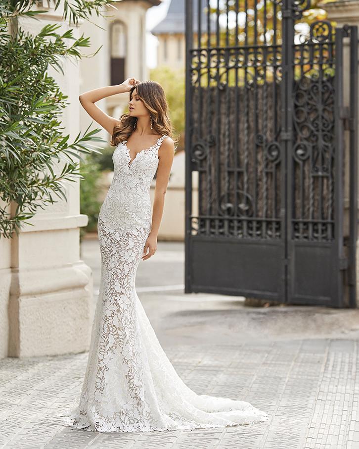 Pretty White Dress TEANNA Rosa Clara Ful