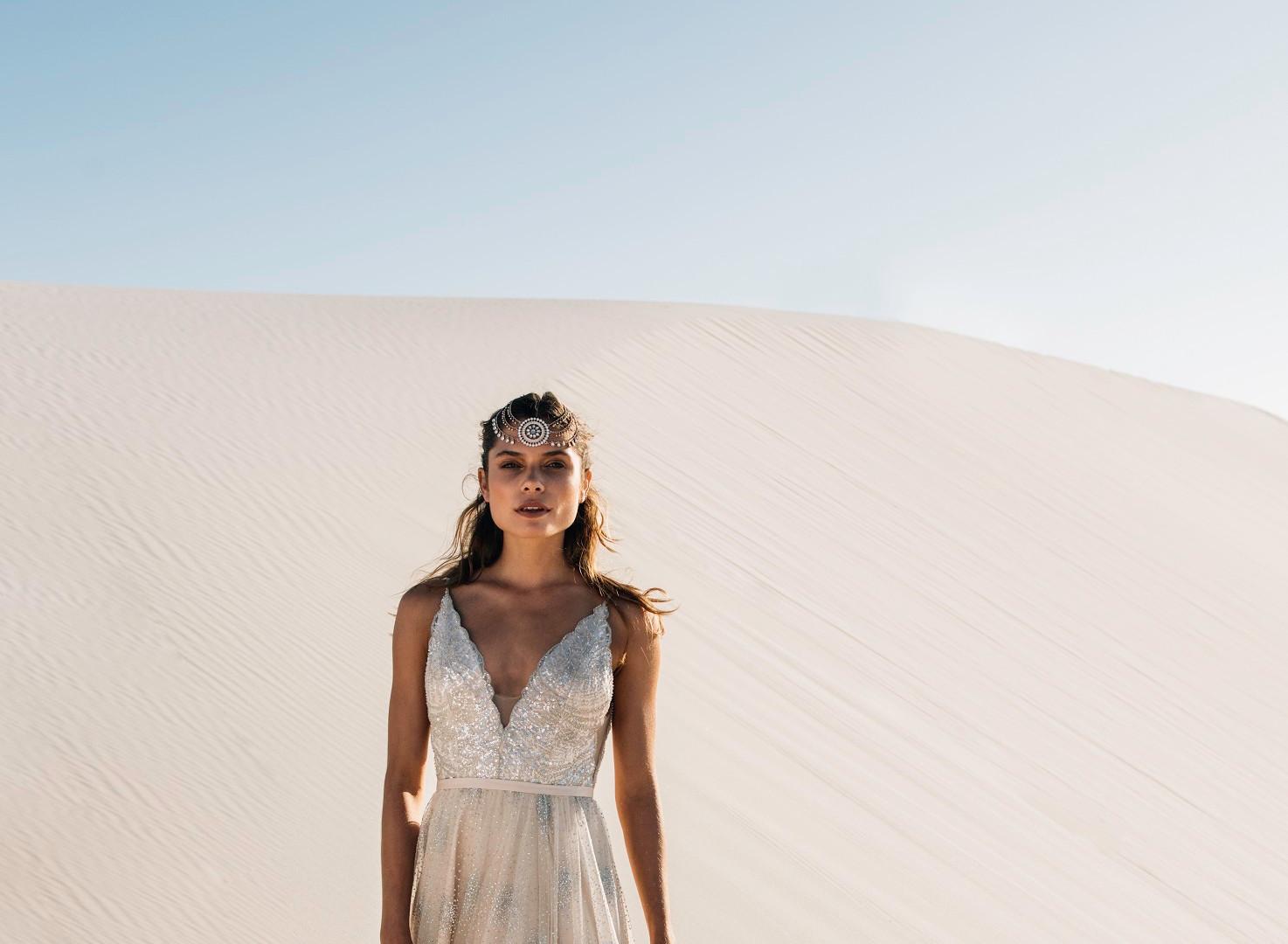 Catherine Deane Rumi Pretty White Dress.