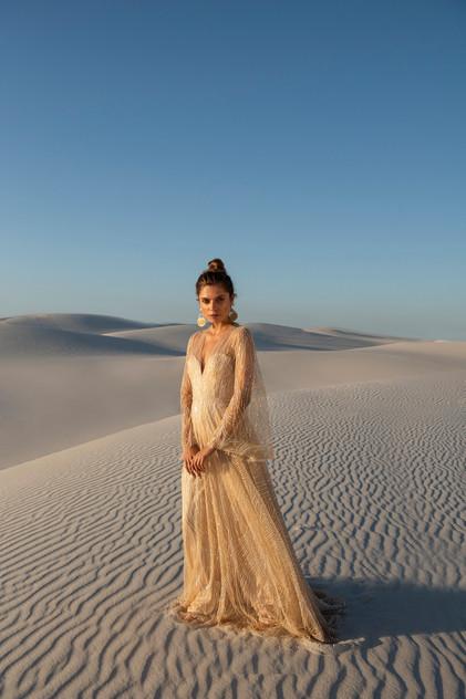 Catherine Deane Rosa Pretty White Dress