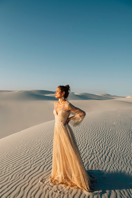 Catherine Deane Rosa Pretty White Dress.