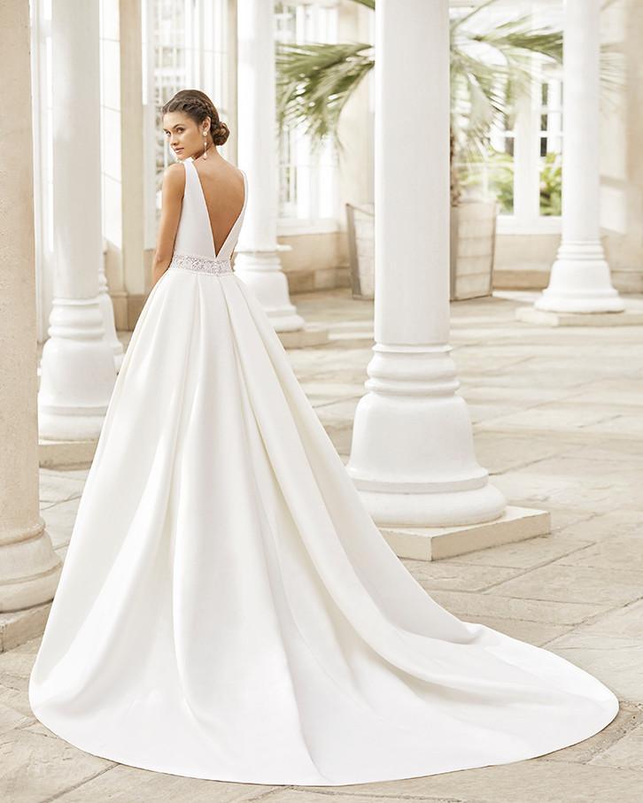 Pretty White Dress TRISTAN Rosa Clara Fu