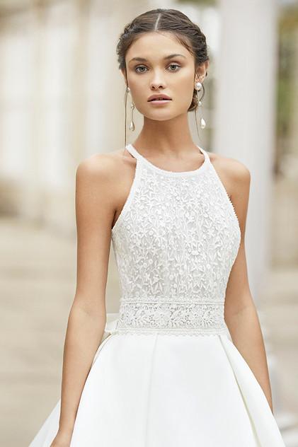 Pretty White Dress TYSAR Rosa Clara Fron