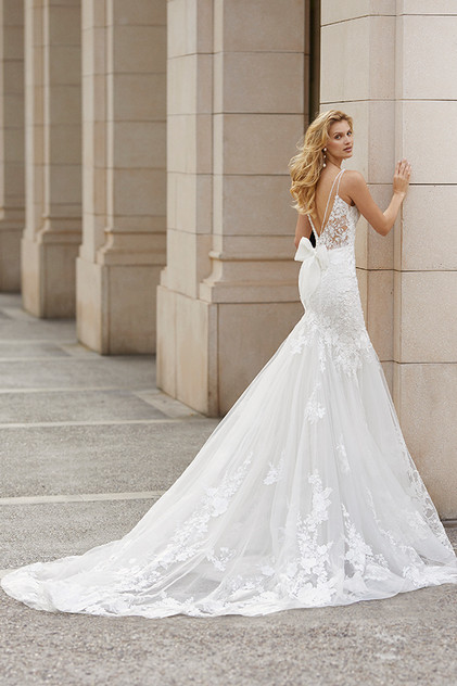 Pretty White Dress TENAR Rosa Clara Full