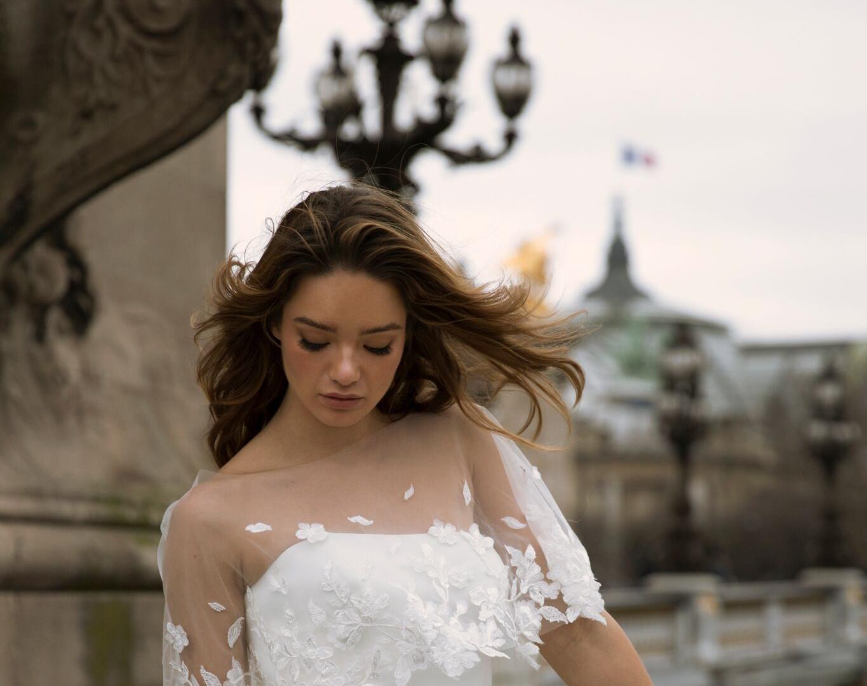 Madi Lane Finley Cape Pretty White Dress