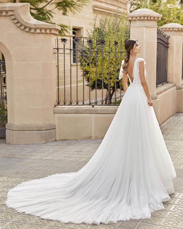 Pretty White Dress TIBET Rosa Clara Full