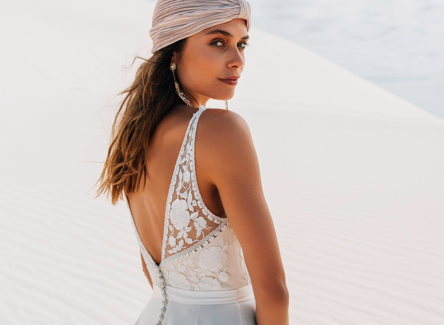Catherine Deane Mitra Pretty White Dress
