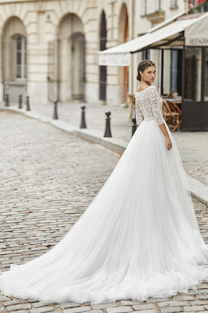 Pretty White Dress TOBAGO Rosa Clara Ful