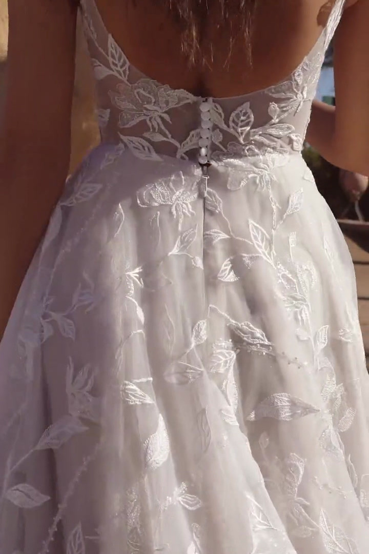 Madi Lane Abigail in Motion Pretty White
