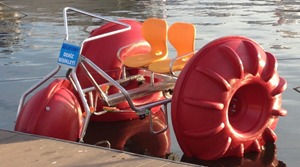 The use of pedalos and setup is very simple.