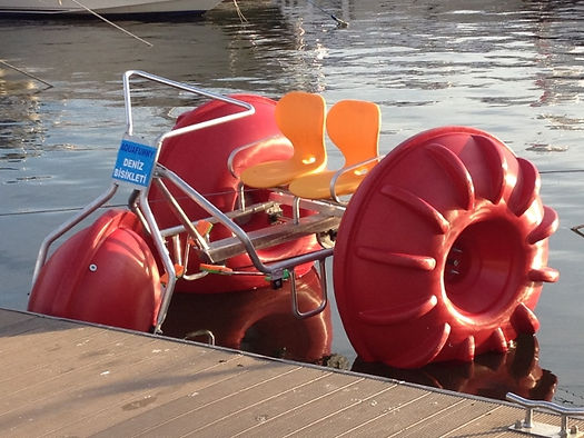 Prices of manufactured pedalo in Turkey is very high quality, so it is very convenient and are exported to many countries.