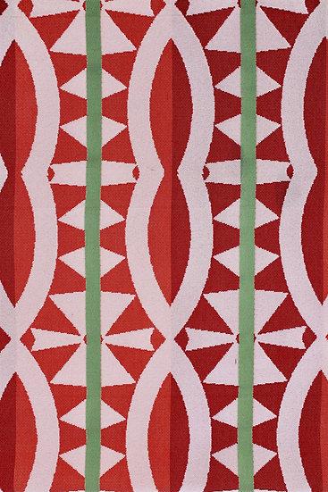 Makala Stripe Red