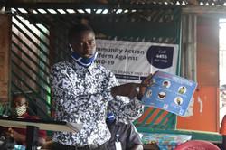 Community Action Platform Against COVID19 Phase I&II